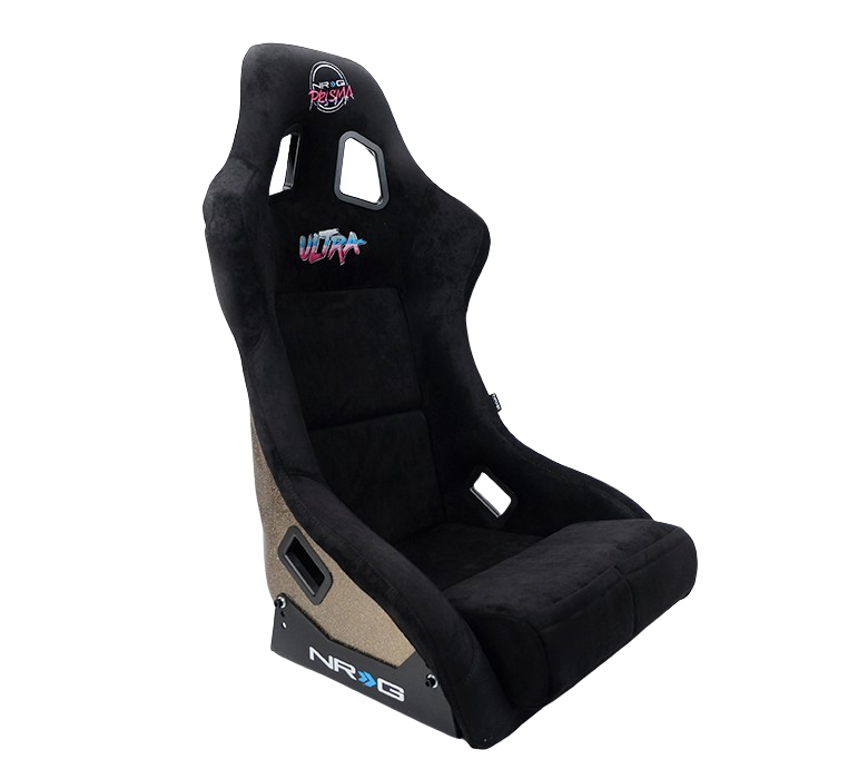 NRG FRP-302BK-ULTRA Large Black Racing Seat