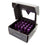 NRG LN-LS700PP-21 Purple With Locks & Lock Socket M12 x 1.5 Steel Lug Nut With Dust Cap Cover (Set of 21)