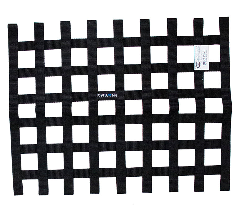 NRG NET-100BK Black SFI 27.1 Window Net