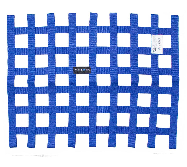 NRG NET-100BL Blue SFI 27.1 Window Net