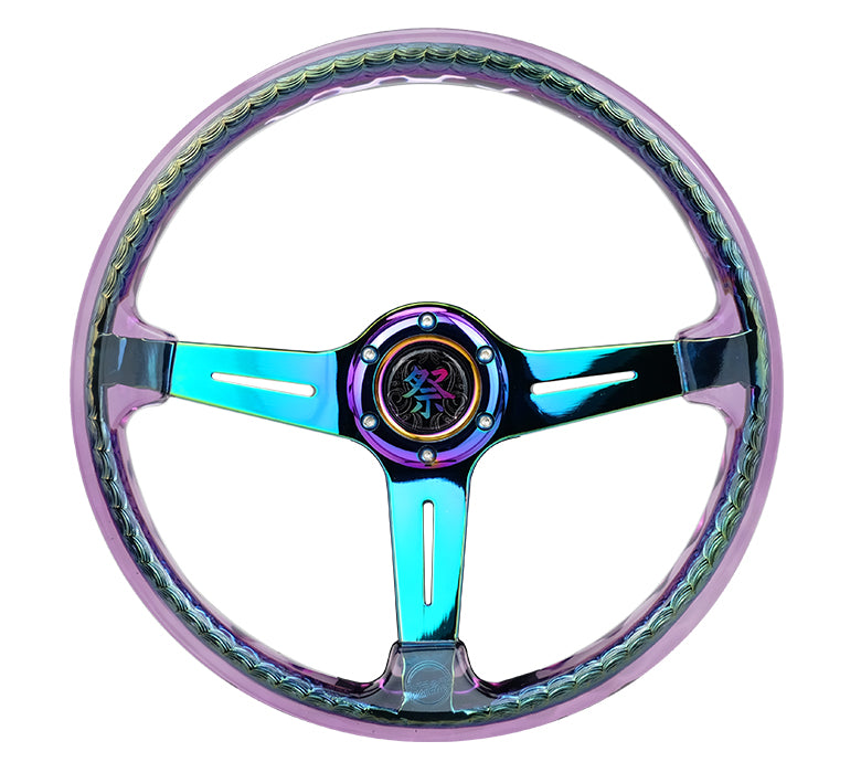 NRG RST-027MC-PP 350mm Matsuri Acrylic Reinforced Steering Wheel