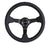 NRG RST-036MB-R 350mm Odi Signature Black Leather Steering Wheel