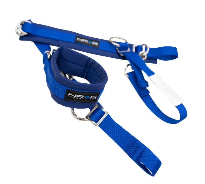 NRG SBH-AR01BL SFI 3.3 Blue Arm Restraints