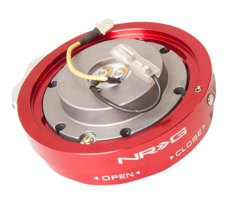 NRG SRK-400RD Red Thin Quick Release