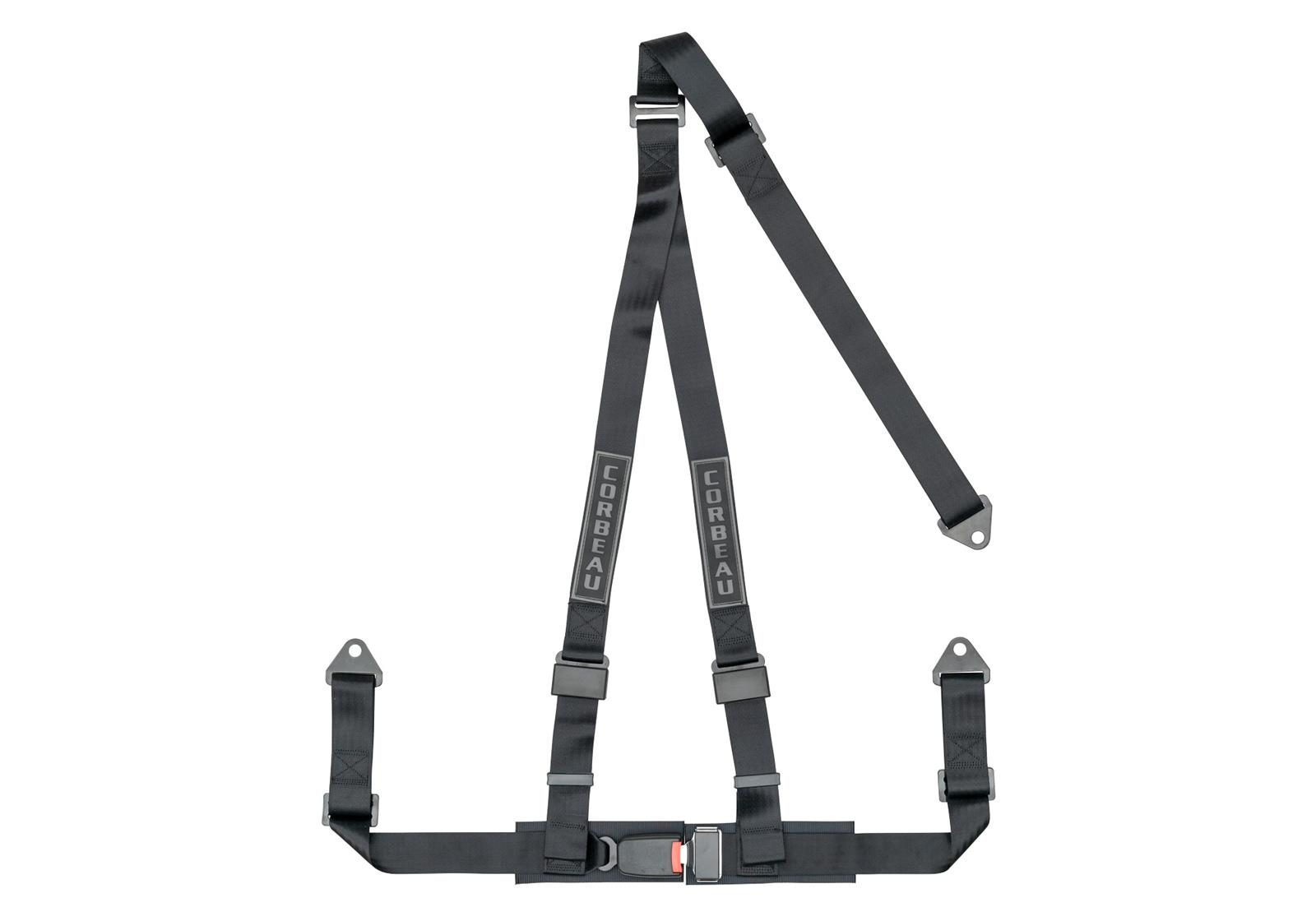 "Corbeau 2"" 3-Point Harness Belt 43001B"