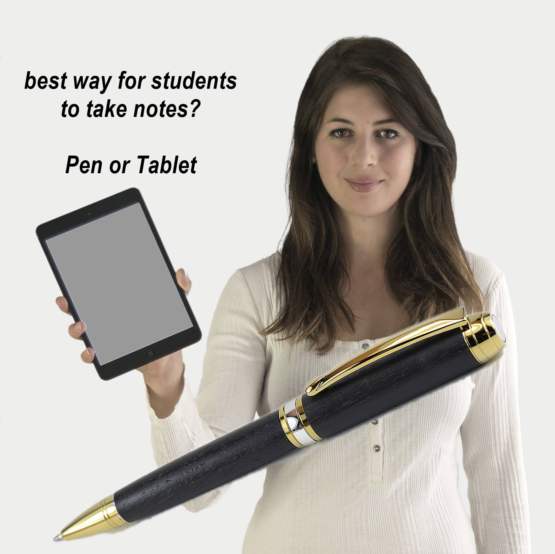 Note-taking: pen and paper versus the laptop