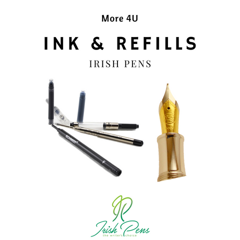 Irish-pens-ink-peter-bock-nibs-and-rollerball-ballpoint-pen-refills