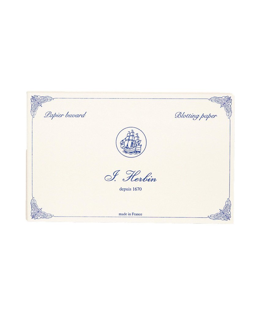 J Herbin Fountain pen ink blotting paper