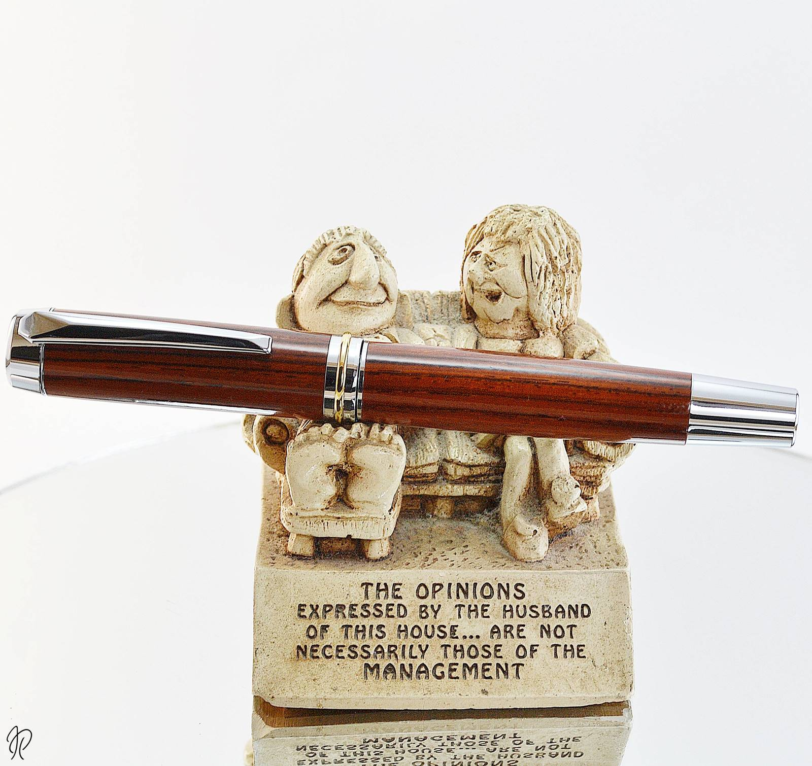 writers wooden pen handmade in ireland by irish pens