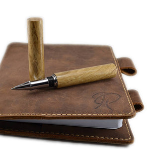 Irish Oak writing pen handmade in Ireland by Irish Pens