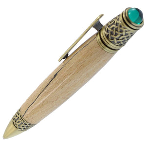 Celtic handmade wooden pen gift made in Ireland by irish pens