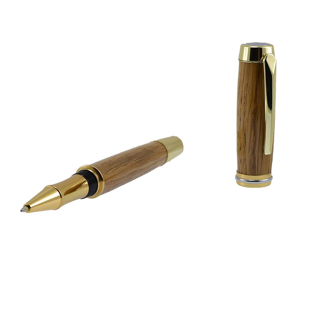 Irish whiskey barrel mans writing pen gift handmade in Ireland by Irish pens