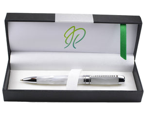 Swarovski-crystal-white-pearl-wedding-pen-gift-boxed-handmade-in-Ireland