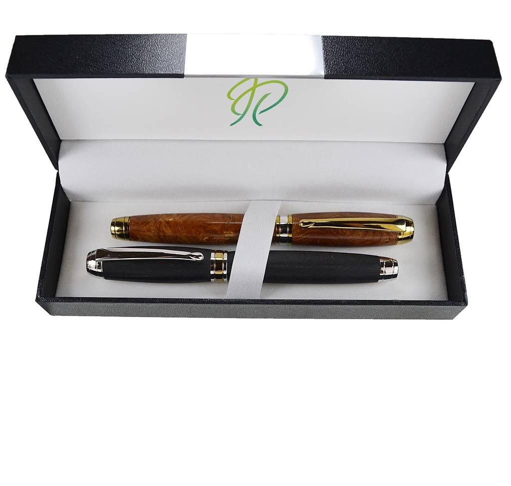 writing pen gift set in Irish woods handmade in Ireland