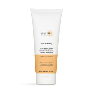 Karmameju SUN Bodylotion SPF 15 - 200 ml.