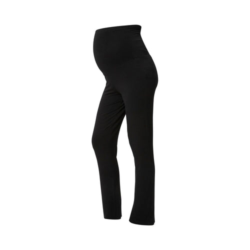 Slim jersey Yoga bukser - Sort