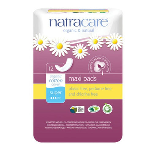 Natracare Maxie Curved regular bind - Øko
