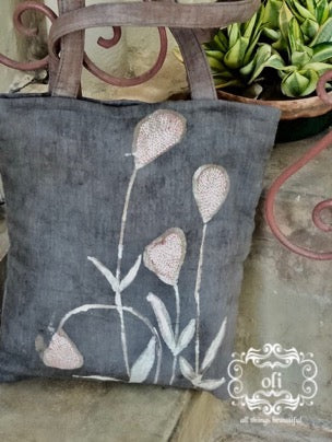 Handcrafted Batik Kantha Stitch Hand Bags