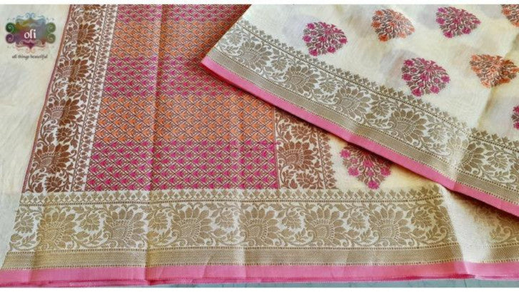 Pure cotton banarasi saree from Banaras