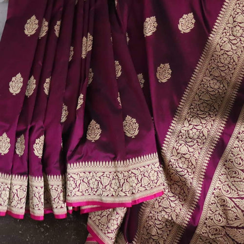 Pure Katan Silk Banarasi Saree
