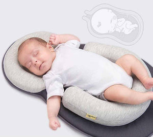 TotPods Portable Baby Lounger & Anti-Roll Pillow