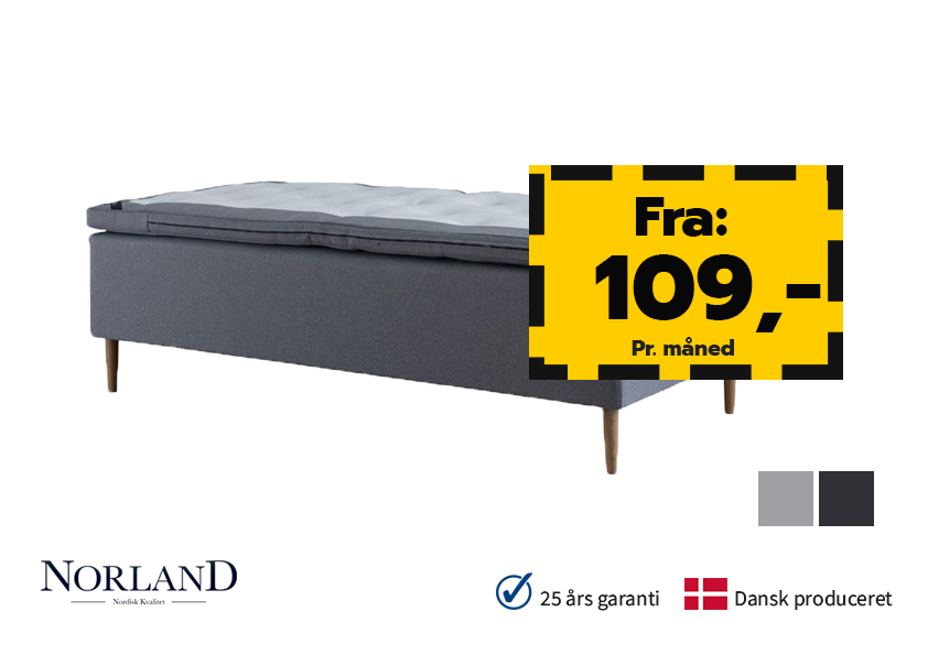 Image of   Norland Eksklusiv Box 90x210cm