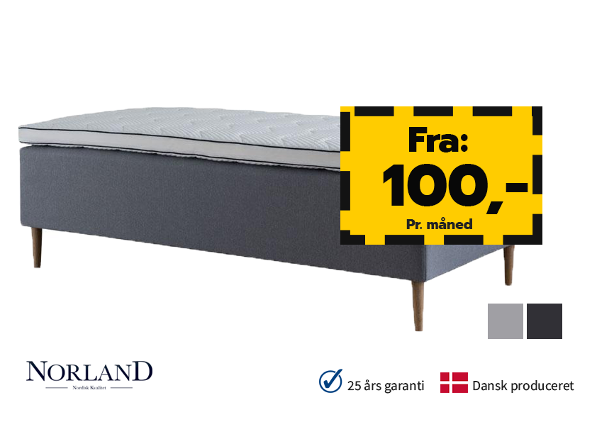 Image of   Norland Luksus Box 80x200cm