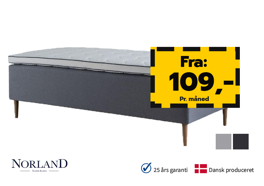 Image of   Norland Luksus Box 90x210cm