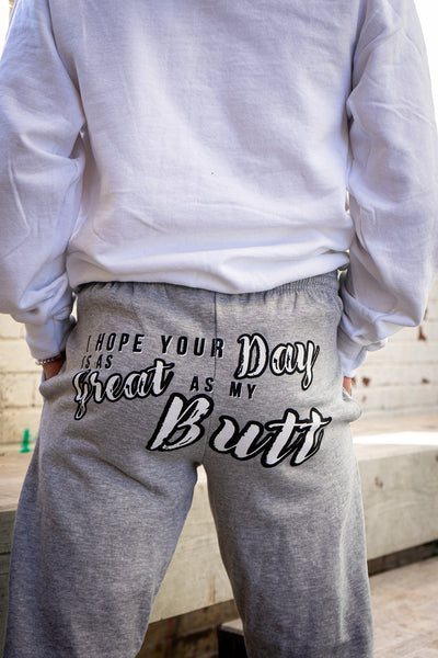 Great Butt Day Jogger (Gray)