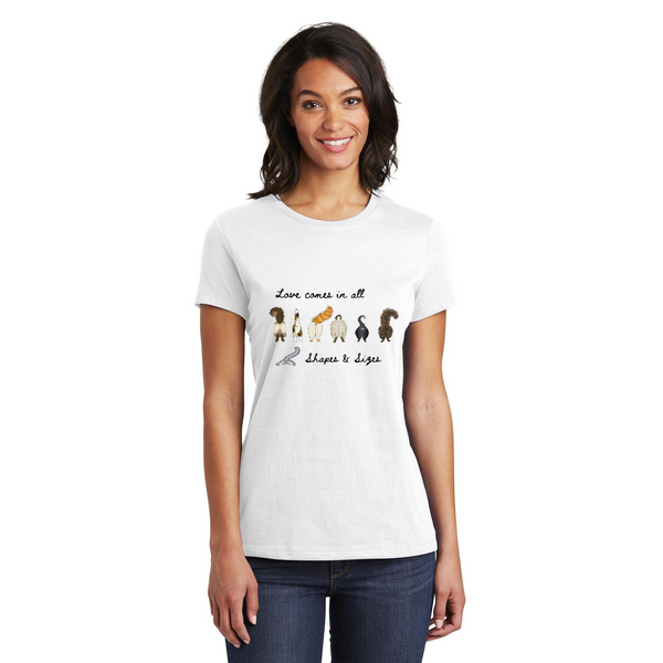 Love in All Sizes T-Shirt Tee