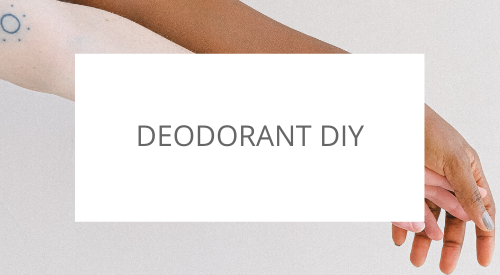 Make your own deodorant with natural ingredients