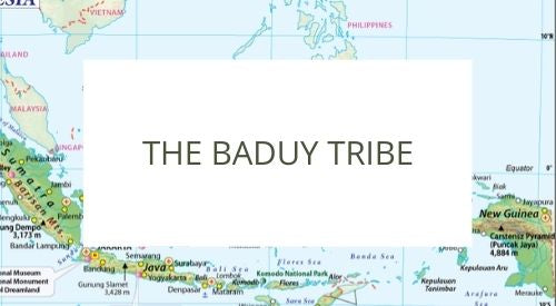 Introducing the Baduy tribe in Indonesia