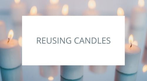 How to reuse old candles: home project