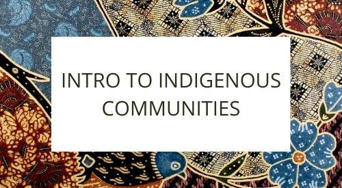 Want to learn about Indigenous communities in Indonesia?