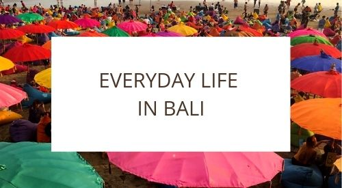How to move around Bali