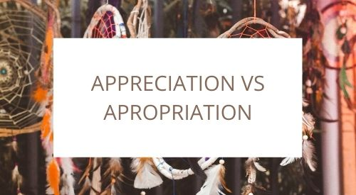 The difference between cultural appreciation and cultural appropriation