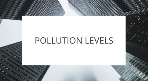 Are pollution levels declining?