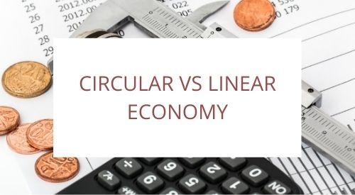 What is the difference between circular and linear economy