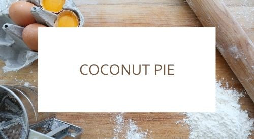How to make coconut pie