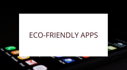 Eco apps for your phone