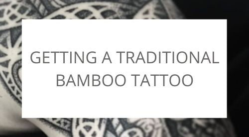 Bamboo tattoo
