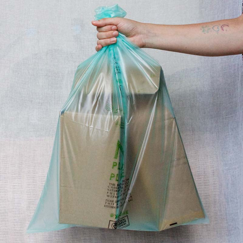 Set of 100 Cassava garbage bags
