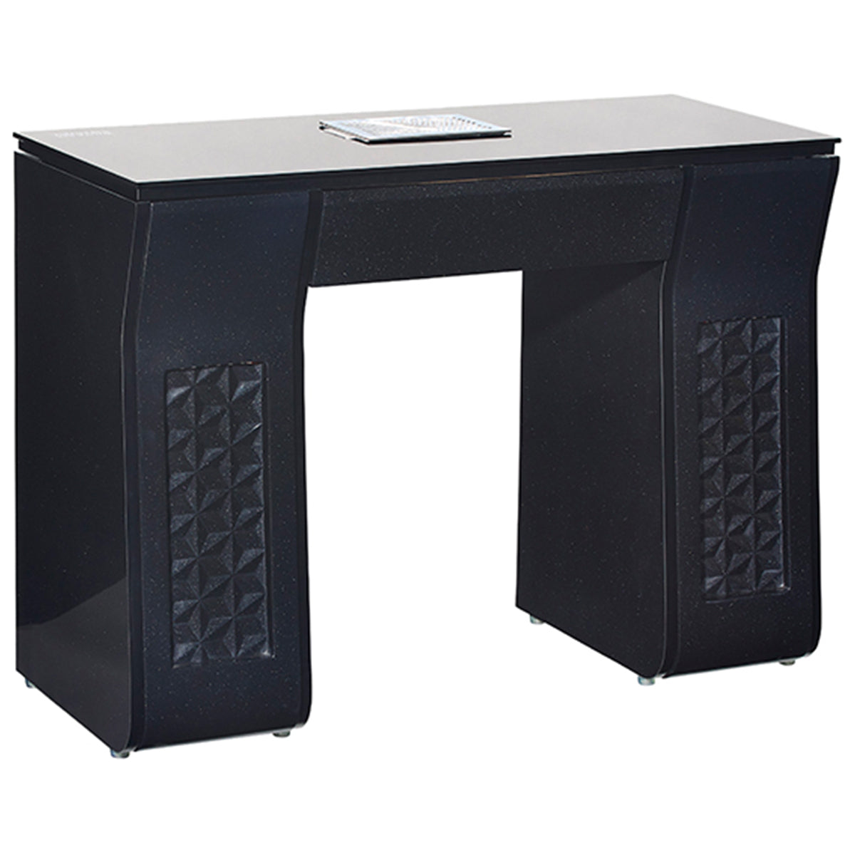 VICKI Manicure Nail Table - Black - Client Side