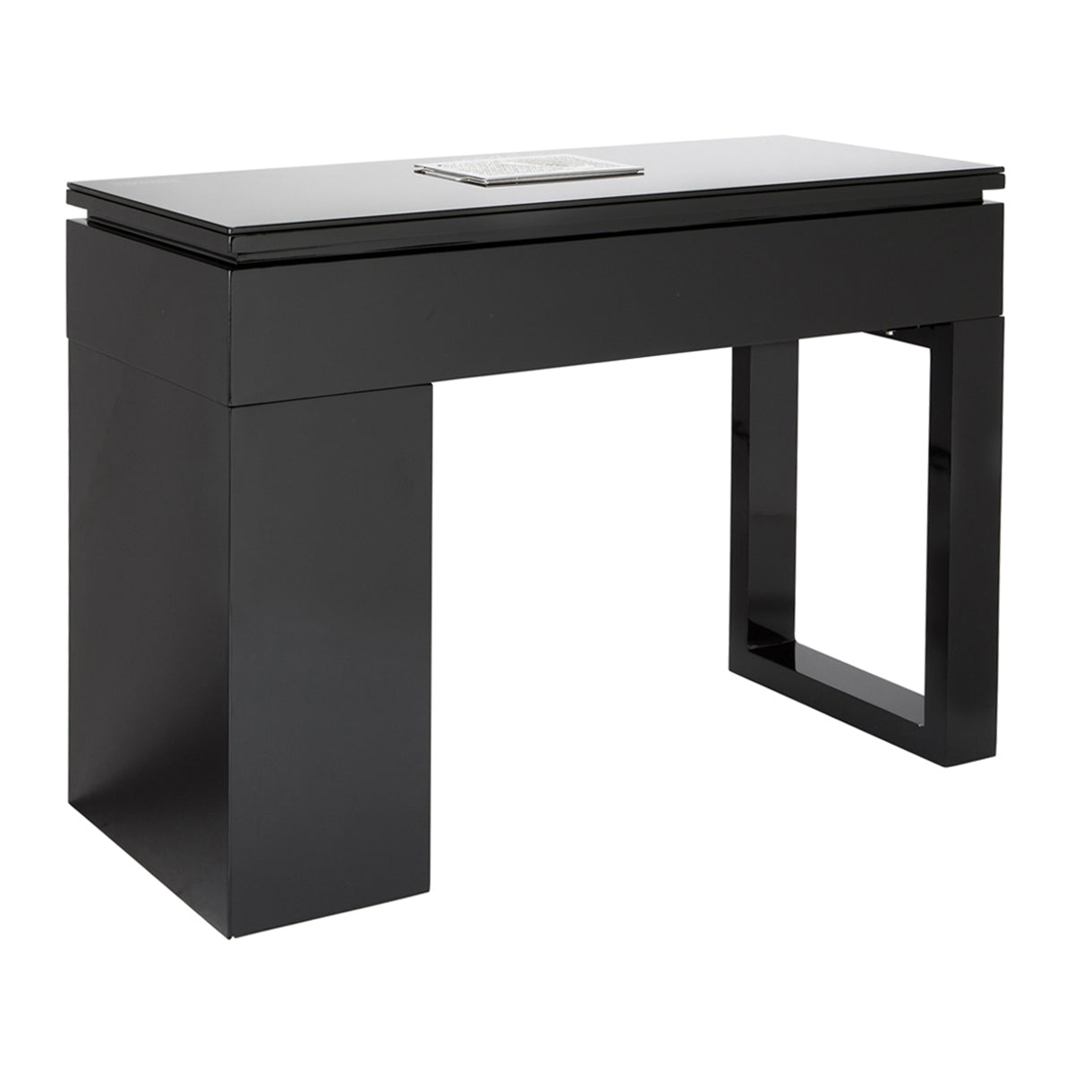 Valentino LUX Manicure Nail Table - Black - Client Side