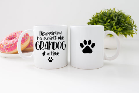 Yes the world revolves around my dogs Mug A028 coffee cup novelty funny pets