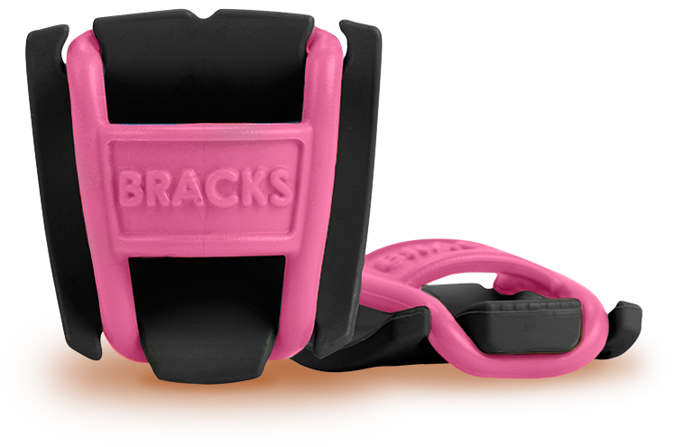 BRACKS - Lace Lock - Black/Pink