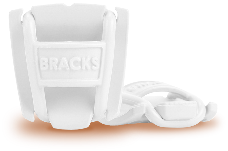 BRACKS - Lace Lock - White/White