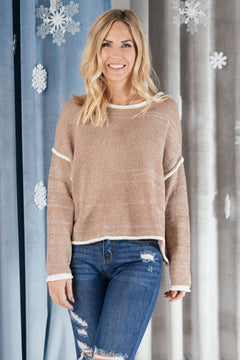 Elements Stitched Sweater