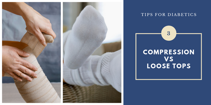 Diabetic Socks vs. Compression Socks