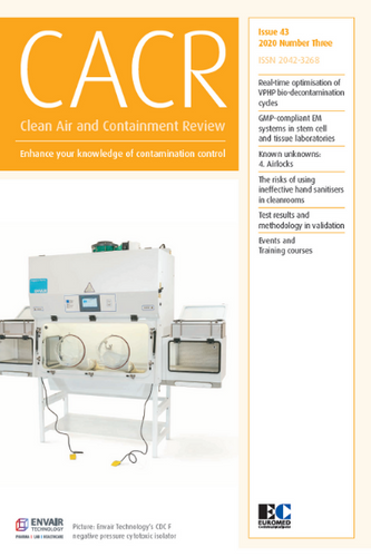Clean Air and Containment Review - Issue 43 - Latest issue
